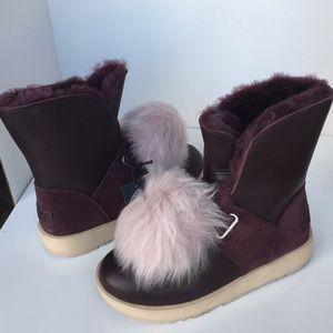 UGG Shoes - ❤️New UGG Isley purple port Waterproof Boot sz 5.5